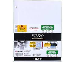 reinforced 3 punched printer paper 39000 five