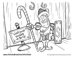 guard elf coloring page tim u0027s printables