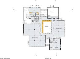 cloudy bay retreat richard leplastrier architectural drawing