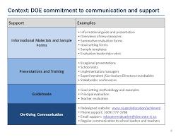teachnj regulation proposals building an effective evaluation