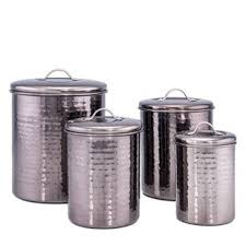 stainless steel kitchen canister metal kitchen canisters jars you ll wayfair