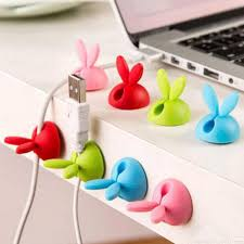 Desk Clips Aliexpress Com Buy Marsnaska Creative Bunny Ear Rabbit Cable
