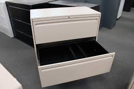 used haworth 3 drawer lateral file filing cabinets