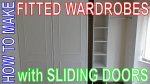 Make Closet Doors How To Make Fitted Wardrobes Easy Diy Install Custom Build
