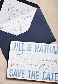 nautical save the date wedding invitation of the day nautical watercolor nautical