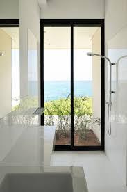 bathroom nice beach bathroom design come with transparent glass