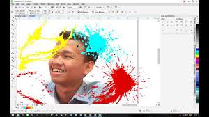 cara membuat watercolor abstrak dengan photoshop cara membuat efek watercolor dengan coreldraw youtube