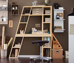 Schreibtischsysteme B O Schreibtisch Regalelement Akazien Holz Optik Oder Weiß Ab 185 22