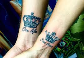 tattoo couple king and queen 40 creative couple tattoo designs to show your real love top of style