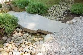 Garden Stones And Rocks Slab Bridge Set A River Rock Rocks Stones Gallery