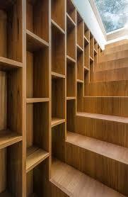 Pine Wood Bookshelf In A Pine Wood By Sundaymorning And Massimo Fiorido Associati