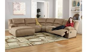 Microfiber Sectional Sofa With Chaise by Delighful Sectional Sofas With Recliners And Chaise Couch Sofa