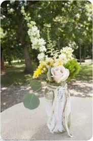 jar arrangements country style jar arrangement with bright farm flowers pod