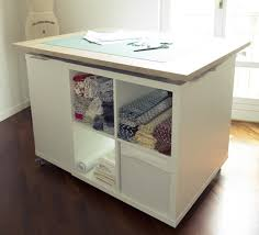 ikea craft table hack diy craft table ikea hack with step by step instructions the