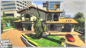 where is the bachelor mansion gta 5 michael u0027s mansion house update youtube