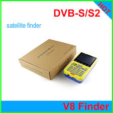free finder free dhl genuine freesat v8 finder hd dvb s2 lcd display digital
