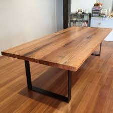 Reclaimed Timber Dining Table Recycled Timber Dining Tables Yallambie Michael Woodberry