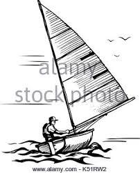 illustration of isolated cartoon speed boat eps8 stock vector art