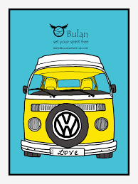 hippie volkswagen drawing sketch of the day no 201 vw camper caravan in colour u2013 the crazy