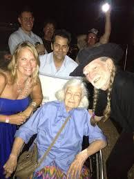 Willie Nelson Backyard Willie Nelson Helps Fan And Farmer Celebrate 100th Birthday Www