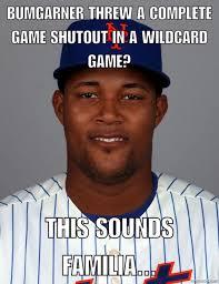New York Mets Memes - 14 best memes of madison bumgarner the giants knocking out jeurys