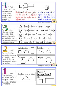 find these 2nd grade geometry posters for free modeled after