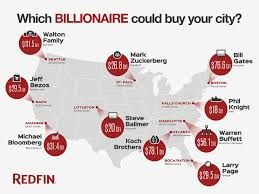 which billionaire could buy your city redfin