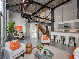 Concrete Loft Penthouse Inside Lower Haight U0027s Theatre Lofts Defines Industrial