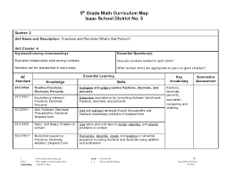 5th grade math curriculum map 2011 2012 2