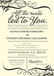 sle wedding programs outline wedding invitation wording philippines sle style by