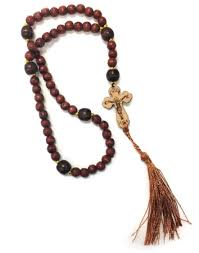 wooden rosary religious jewelry ukrainian wooden rosary monastery icons