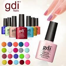 gdi nails london fine glitters uv soak off gel nail polish ebay