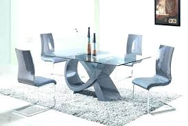 antique table with modern chairs modern round glass dining table lesdonheures com