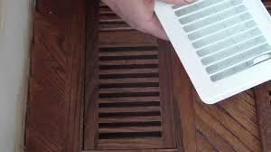 Decor Floor Registers Wood Floor Vents With Dampers Youtube