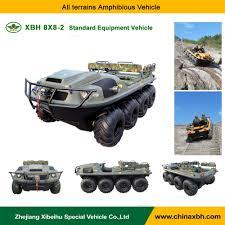 amphibious car xbh 8x8 2 standard amphibious vehicle 800cc 8 wheel 4 stroke atv