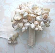 wedding bouquets with seashells my seashell bouquet for my upcoming wedding weddingbee