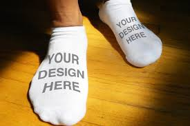 personalized socks custom printed and personalized socks for men no show socks