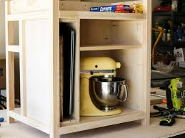 Small Portable Kitchen Island by How To Build A Diy Kitchen Island On Wheels Hgtv