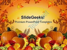 thanksgiving harvest fall festival powerpoint templates and