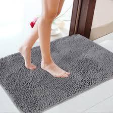 Luxury Microfiber Chenille Bath Rug Fluffy Bath Rugs Roselawnlutheran