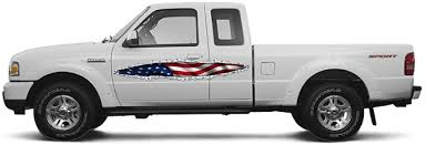 american flag truck ripped metal long points american flag u2013 wrap graphics vehicles boats