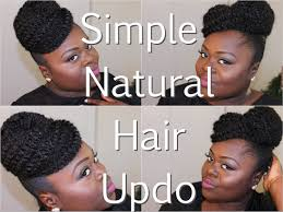what is a marley hairdos natural hair simple updo using marley hair tutorial youtube