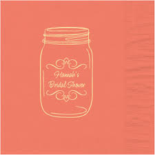printed wedding napkins jar wedding designs for personalized napkins gift bags and