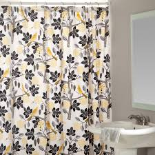Bed Bath Beyond Shower Curtain Black And Yellow Shower Curtain Curtain Menzilperde Net