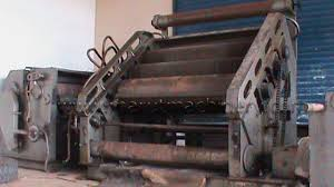 used paper corrugation machine second machines used