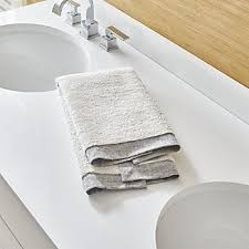 Paper Hand Towels For Powder Room - hand towels crate and barrel