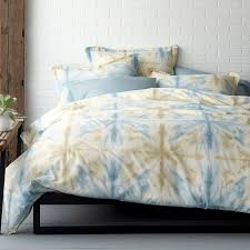 domino synergy tie dye organic bedding the company store