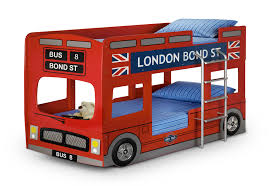 london bus bunk bed childrens novelty bunk bed kids red car
