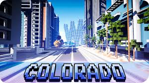 Colorado Cities Map by Minecraft Modern Colorado River City Map With Download Youtube