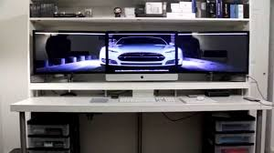 Computer Built Into Desk Interior Design 19 Computer Built Into Desk Interior Designs